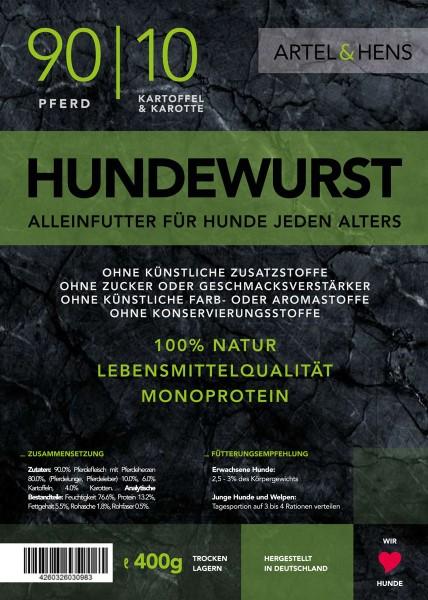 Náttúra - Hundewurst Pferd 90 / 10