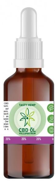 Hanf Aroma CBD Öl 20% 10ml