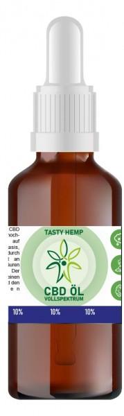 Hanf Aroma CBD Öl 10% 10ml