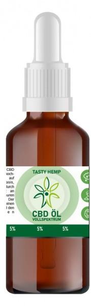 Hanf Aroma CBD Öl 5% 10ml